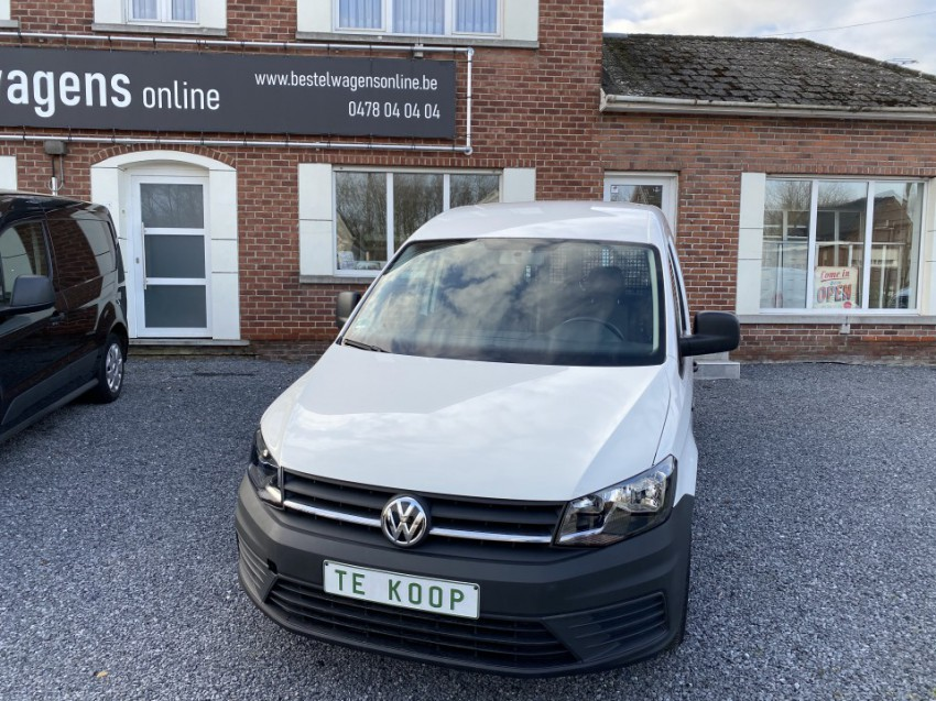 Volkswagen Caddy (wit)